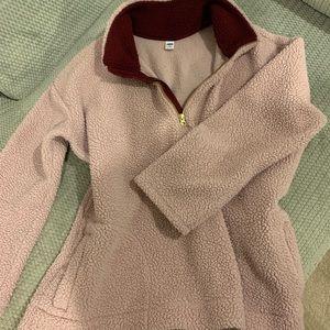 Super soft half zip sweater